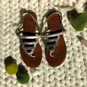 Jeffery Campbell Metallic Sandals